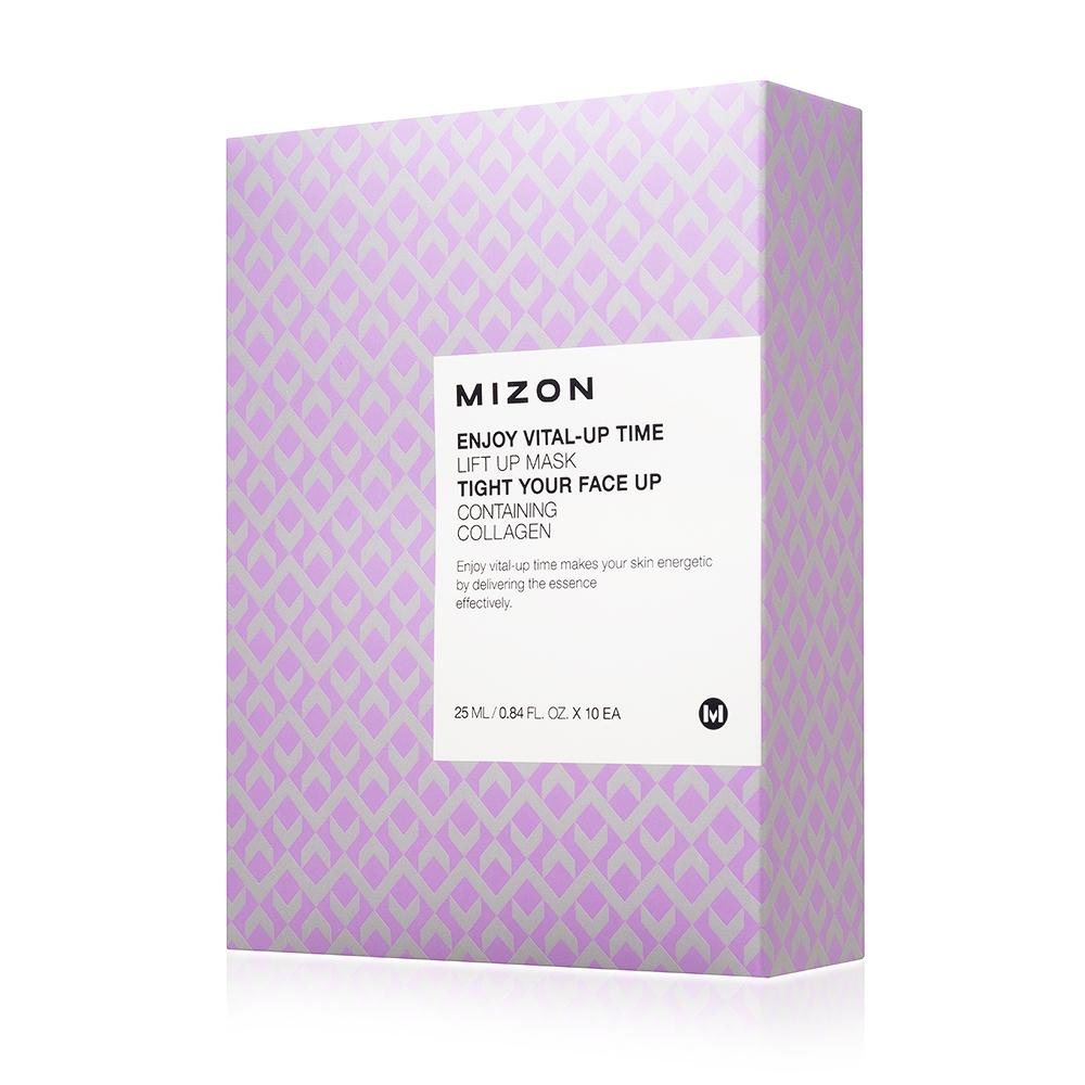 Лифтинг маска Mizon Enjoy Vital-Up Time Lift Up Mask-Set, 25 мл*10 шт