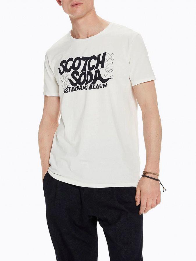 Футболка Scotch & Soda футболка мужская scotch