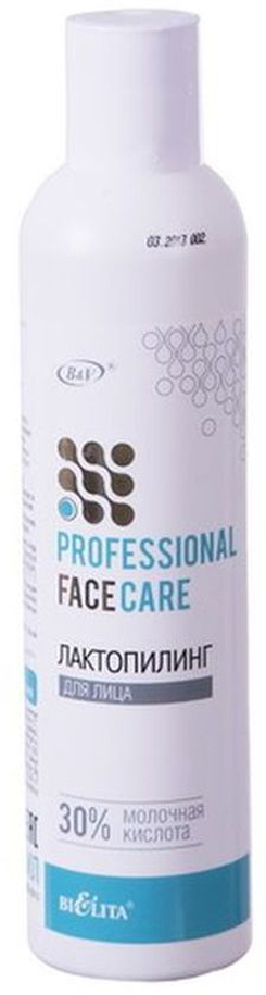 Лактопилинг для лица Белита Professional Face Care, 30% молочная кислота, 250 мл