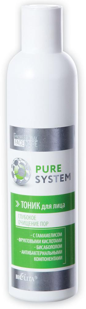 """Тоник для лица Белита """"Pure System. Глубокое очищение пор"""", 250 мл"""