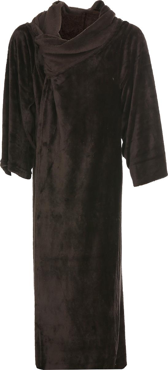 Плед с рукавами Павлина Handy, цвет: коричневый, 150 х 200 см цена