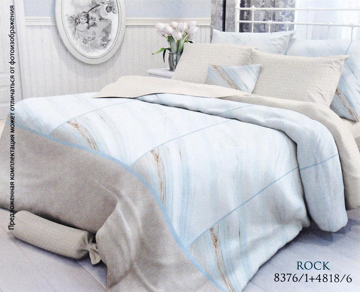 Комплект белья Verossa Rock, семейный, наволочки 50x70 и 70x70 комплект постельного белья verossa семейный indigo grain наволочки 50x70 и 70x70 717551