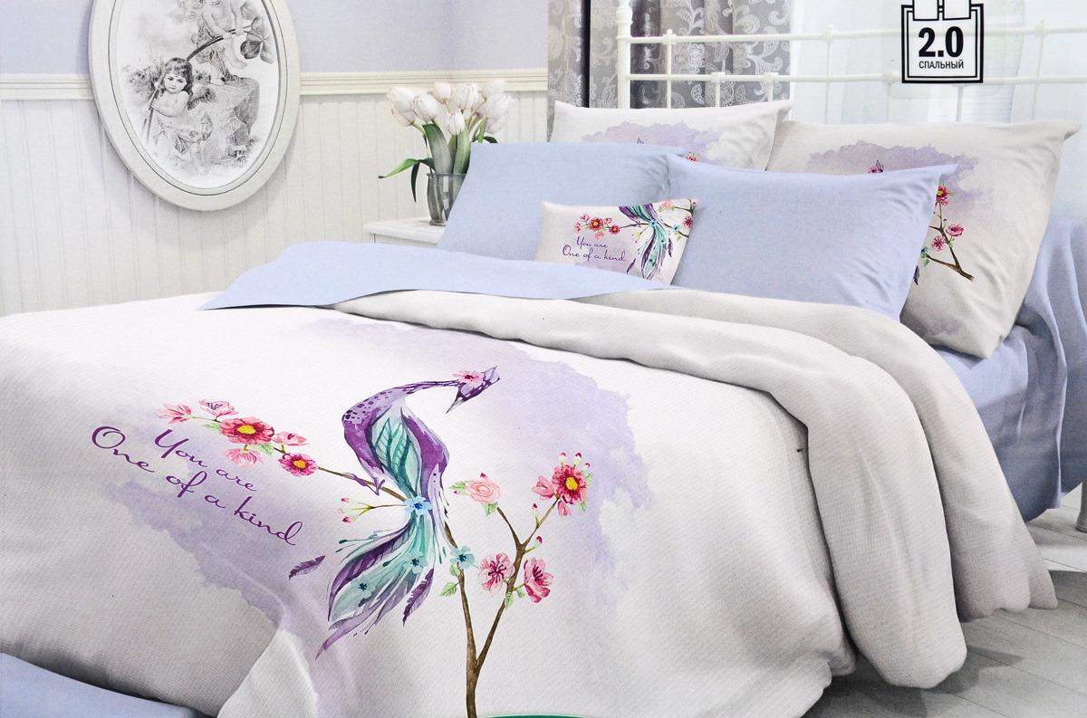 Комплект белья Verossa, 2-спальный, наволочки 70x70. 722657 комплект белья verossa gray 2 спальный наволочки 70x70