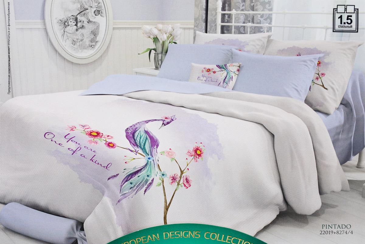 Комплект белья Verossa, 1,5-спальный, наволочки 50x70. 722654