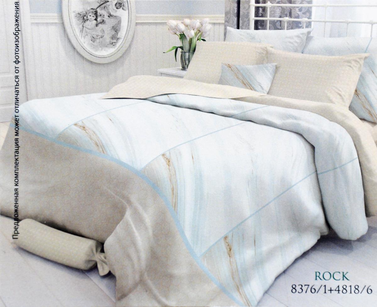 Комплект белья Verossa Rock, 2-спальный, наволочки 70x70