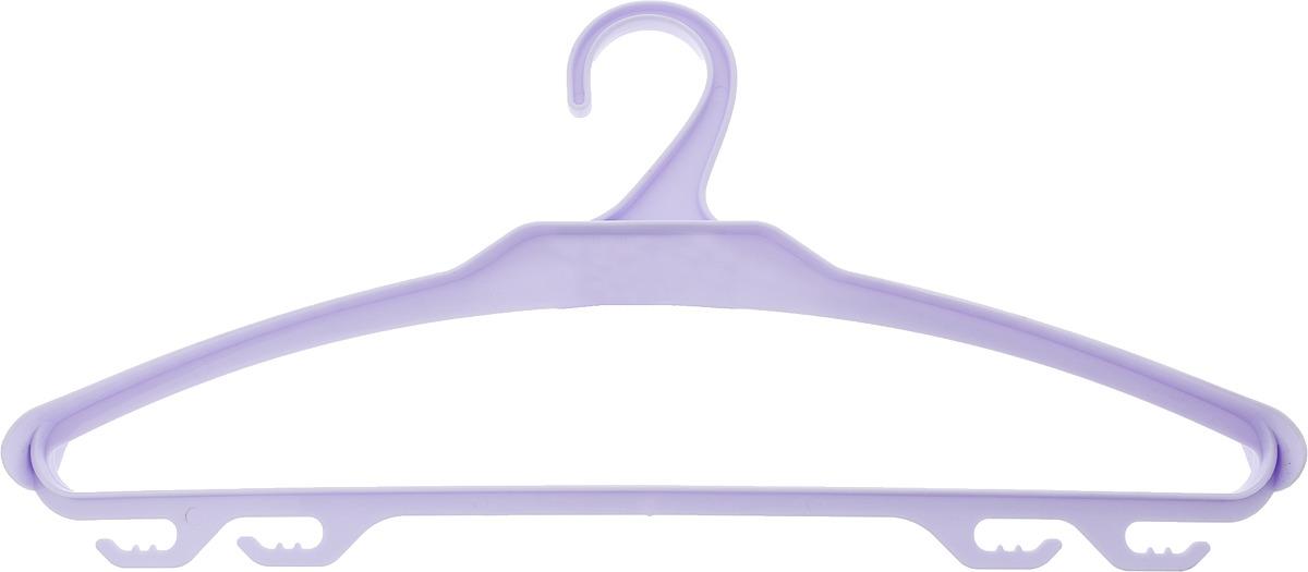 Вешалка для верхней одежды BranQ, цвет: сиреневый, размер 48-50 цена