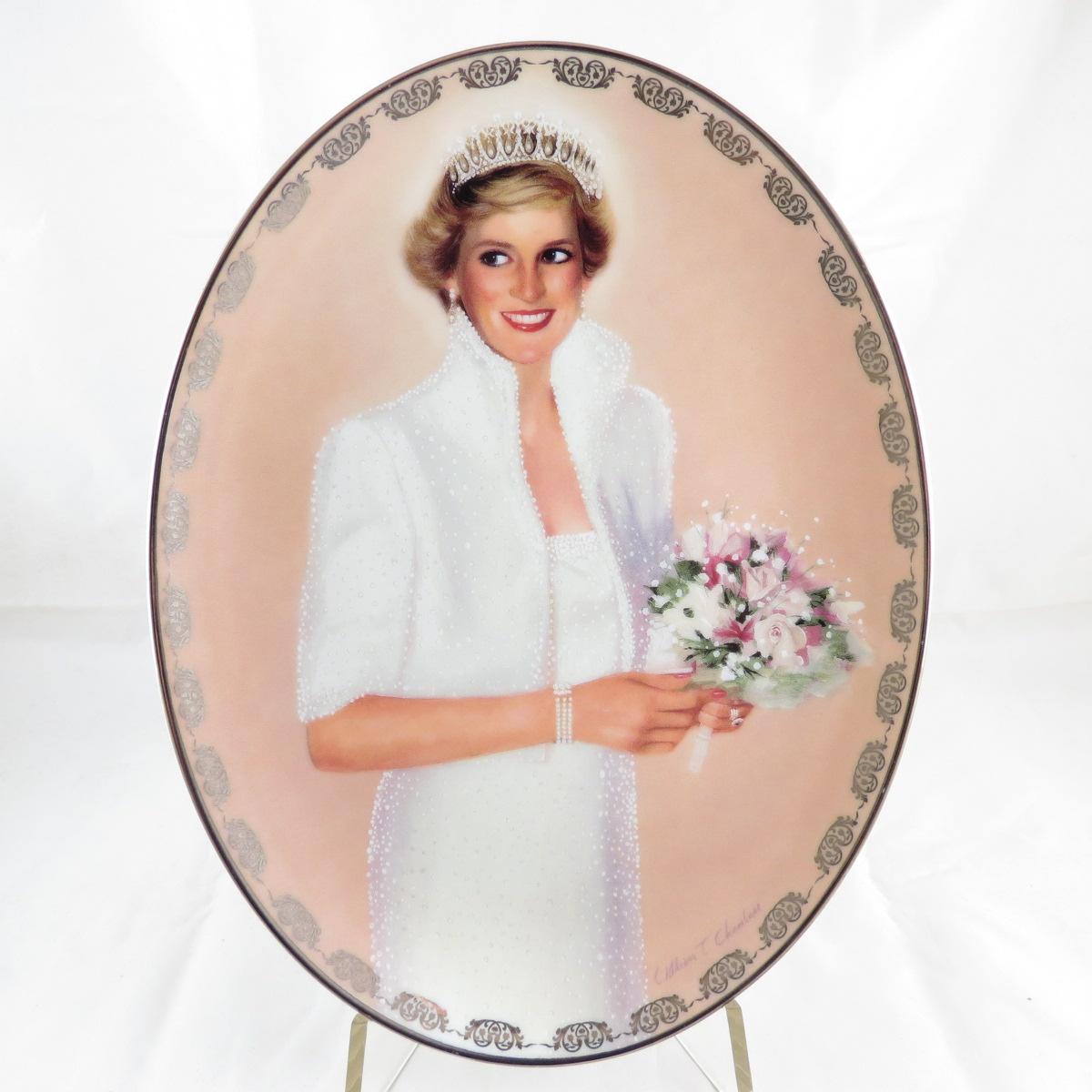 Декоративная коллекционная тарелка Royal Cornwall Диана: Королева Наших Сердец. Наша Королевская Принцесса декоративная тарелка диана истинная принцесса фарфор деколь сша bradford exchange 1997