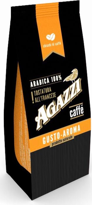 Кофе в зернах Agazzi Gusto Aroma, 200 г4631136302216Натуральный кофе в зернах производства Россия. Насыщенный, крепкий и ароматный кофе обладает несравнимыми оттенками вкуса.
