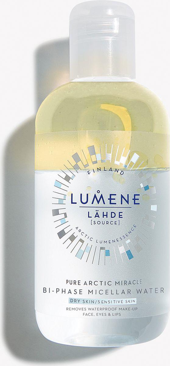 Вода мицеллярная Lumene Lahde, двухфазная, 250 мл мицеллярная вода lumene lumene lu021luyxp33