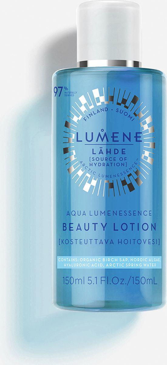 Лосьон для красоты кожи лица Lumene Lahde Aqua Lumenessence, 150 мл цена и фото