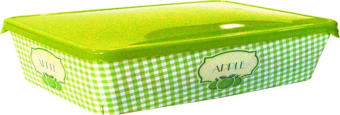 Емкость для продуктов Giaretti, цвет: оливковая роща, 0,9 л емкость для продуктов giaretti цвет оливковая роща 1 35 л