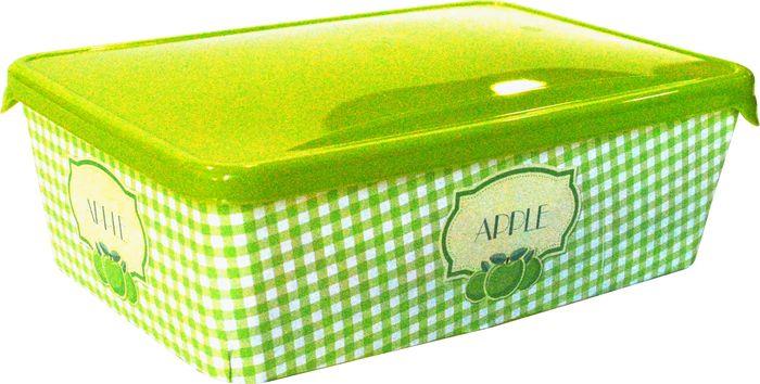 Емкость для продуктов Giaretti, цвет: оливковая роща, 1,35 л емкость для продуктов giaretti цвет оливковая роща 1 35 л