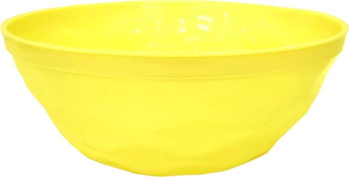 Салатник Giaretti Brilliante, цвет: спелый лимон, 2,5 л салатник berossi domino twist цвет снежно белый 0 7 л