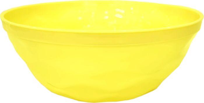 Салатник Giaretti Brilliante, цвет: спелый лимон, 4 л салатник berossi domino twist цвет снежно белый 0 7 л