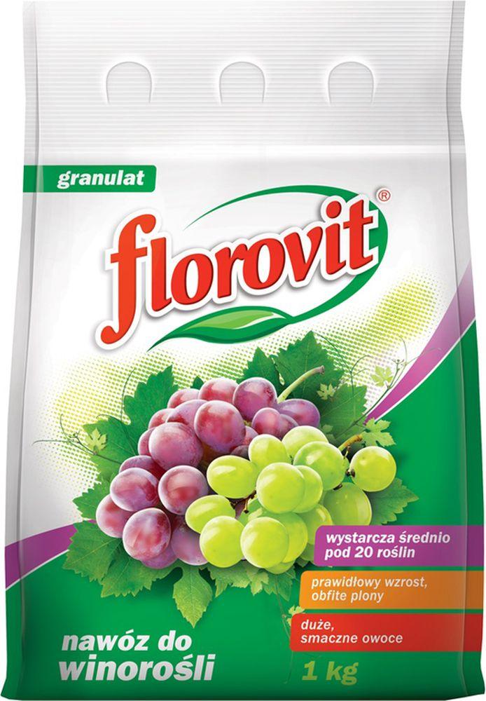 Удобрение Florovit, гранулированное, для винограда, 1 кг удобрения для огорода весной