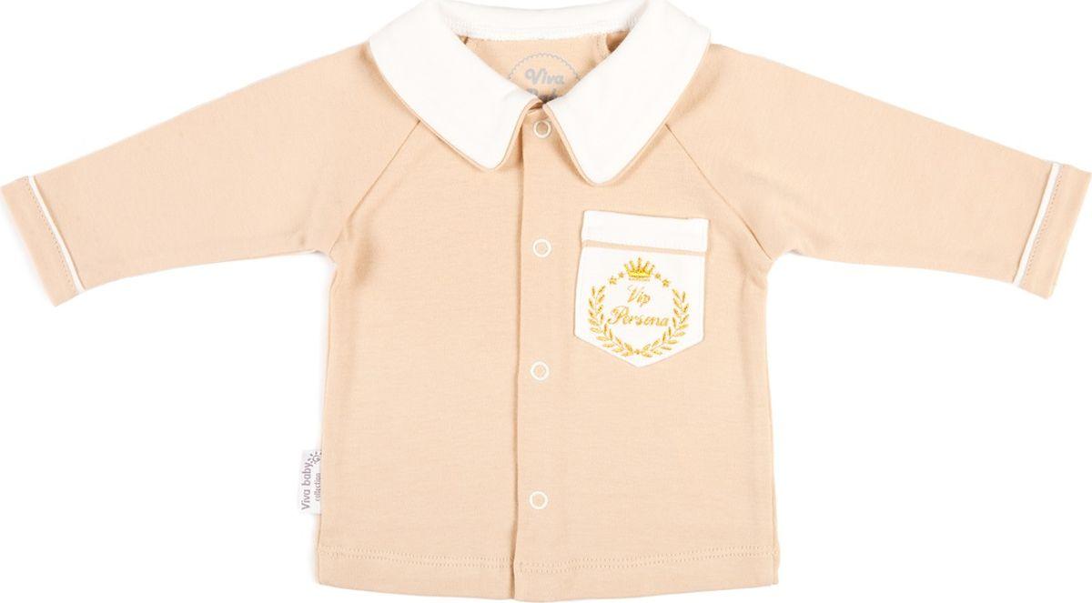 Кофта Viva Baby кофта для новорожденных viva baby цвет сиреневый d1502 3 размер 62