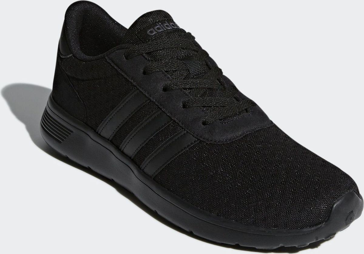 f45bb81ae Кроссовки детские adidas lite racer k цвет черный bc0073 размер 4 5 ...