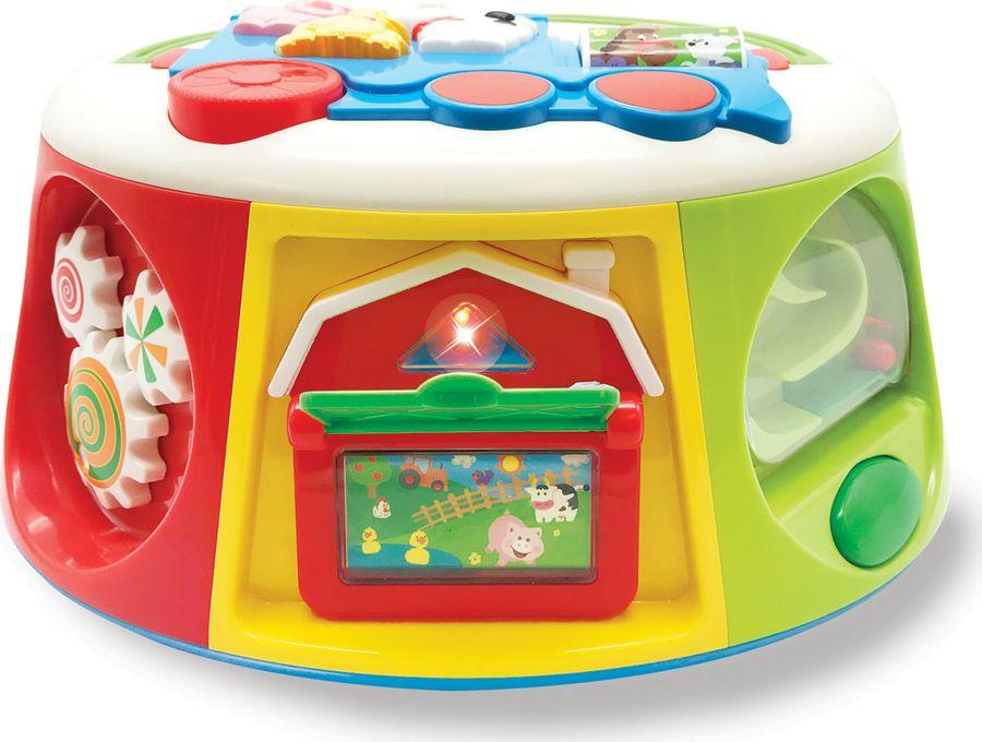 Развивающая игрушка Kiddieland Мультицентр kiddieland развивающая игрушка пианино с животными минни маус и друзья kiddieland