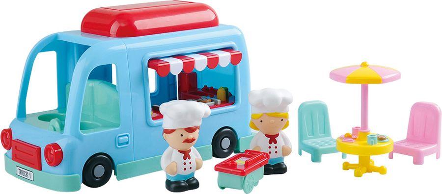 Набор игровой PlayGo Грузовик-закусочная playgo игровой набор тостер цвет розовый