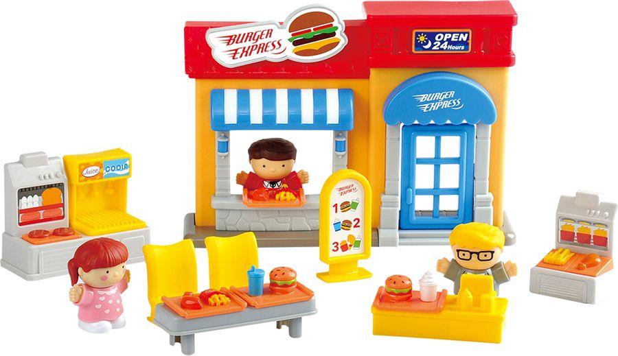 Набор игровой PlayGo Кафе набор с пластилином playgo кафе закусочная