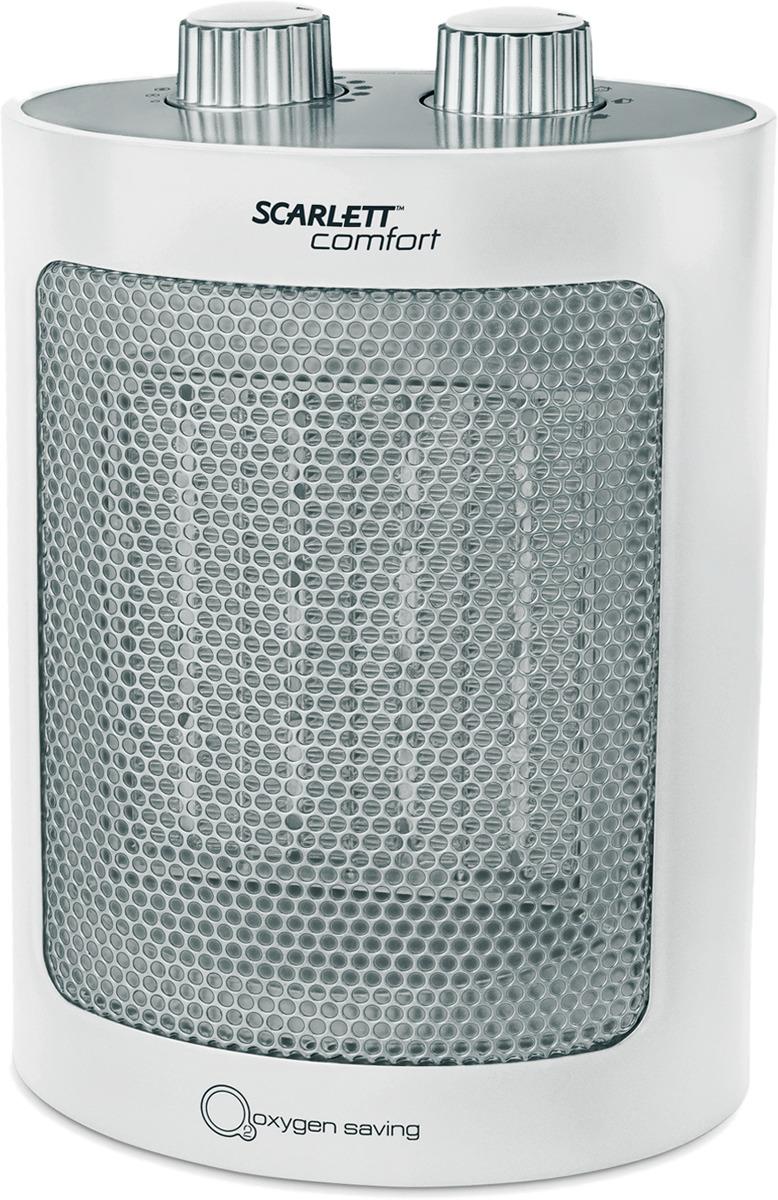 Тепловентилятор Scarlett SC-FH53K12, цвет: белый