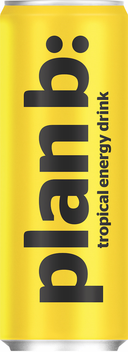 Энергетический напиток Plan B Тропик, безалкогольный тонизирующий, газированный plan b dúo esher