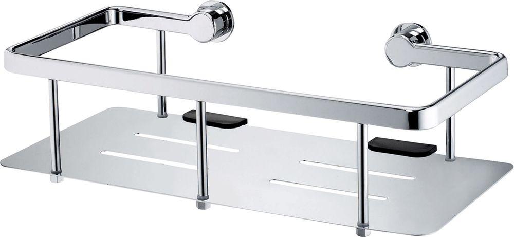 Полка для ванной комнаты WasserKRAFT, прямая. K-511 полка для ванной комнаты wasserkraft с бортиком k 6244