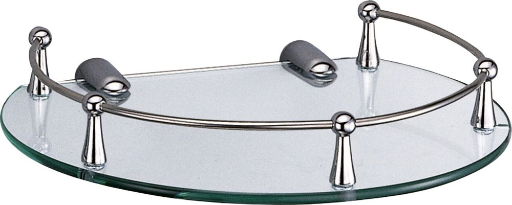 Полка для ванной комнаты WasserKRAFT. K-566 полка для ванной комнаты wasserkraft с бортиком k 6244