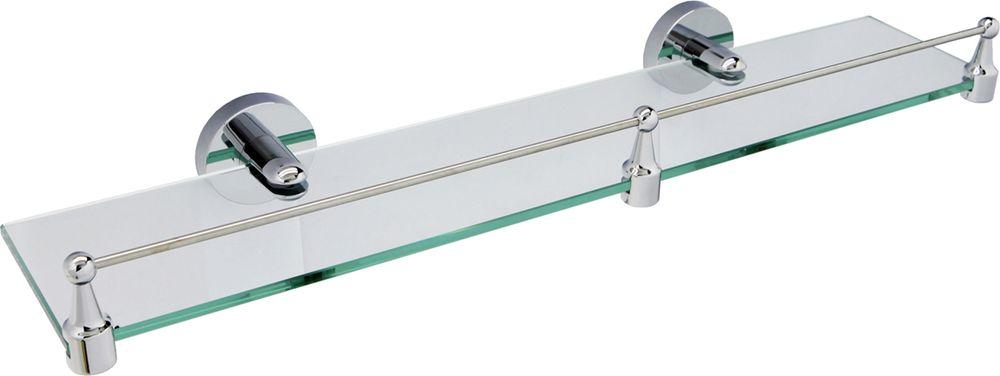 Полка для ванной комнаты WasserKRAFT, с бортиком. K-6244 полка для ванной комнаты wasserkraft с бортиком k 6244
