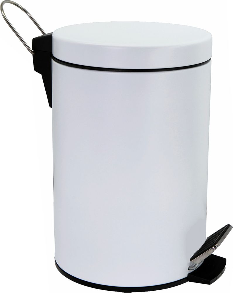 Ведро для мусора WasserKRAFT, 5 л. K-635WHITE