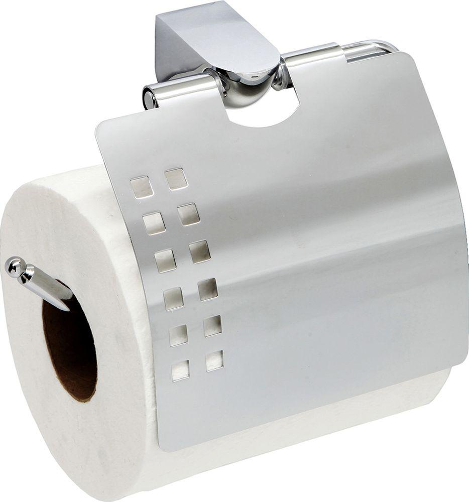 Держатель для туалетной бумаги WasserKRAFT, с крышкой. K-8325 держатель для туалетной бумаги wasserkraft kammel k 8325 9062146