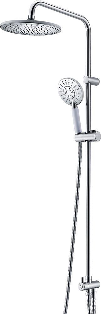 Комплект душевой WasserKraft: 3-функциональная лейка, шланг, насадка. A039 цена