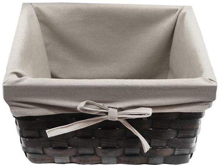 Корзина для белья WasserKRAFT Berkel, цвет: темно-коричневый, 31 х 26 х 19 см. WB-480-SWB-480-SВодоотталкивающее покрытие, Съемные хлопковые чехлы, Цвет: корзина - темно-коричневый, чехол - бежевый