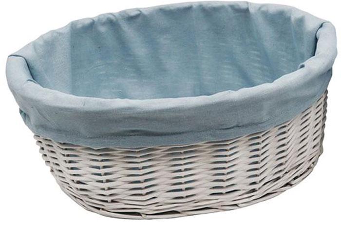 Корзина для белья WasserKRAFT Rossel, цвет: белый, 35 х 29 х 14 см. WB-280-S корзина kesper 29 х 23 х 8 см