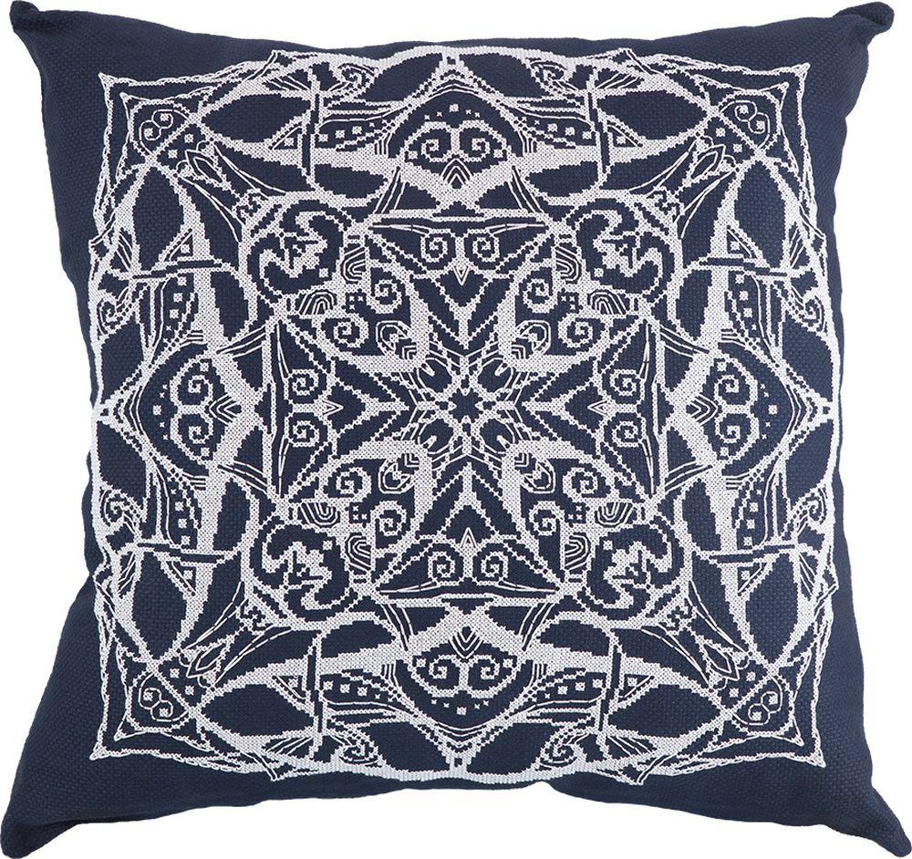 Набор для вышивания крестом Panna Подушка Мандала, 40 х 40 см набор для вышивания крестом panna подушка мандала 40 х 40 см