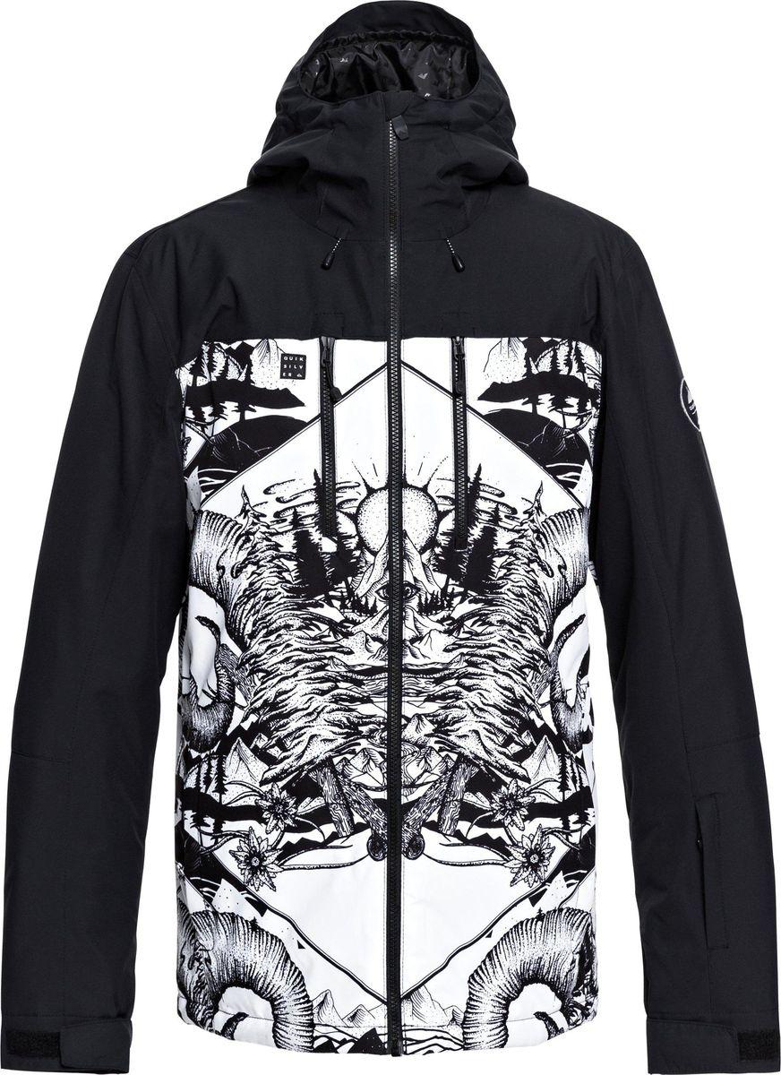 Куртка Quiksilver куртка мужская quiksilver цвет бордовый eqytj03185 rzc0 размер xxl 54