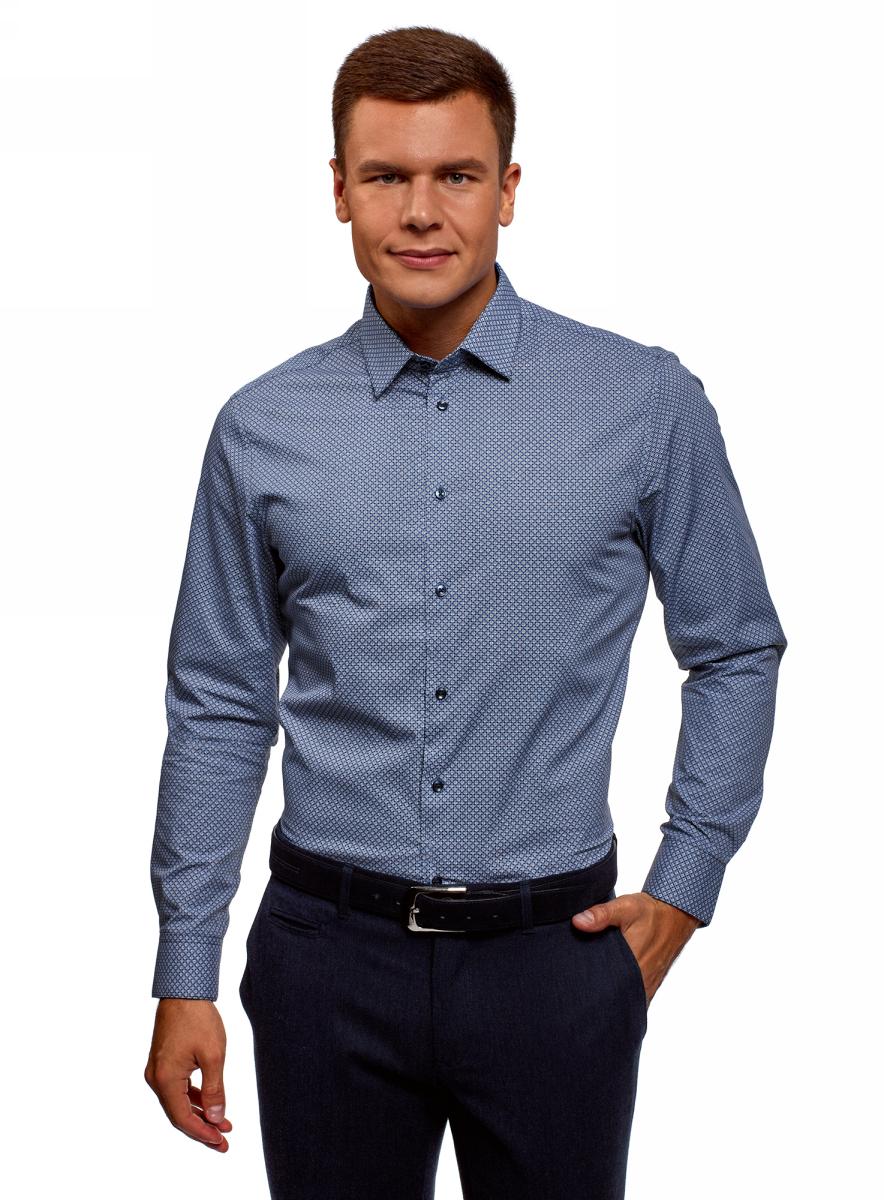 Рубашка oodji спектакль мужчины по графику