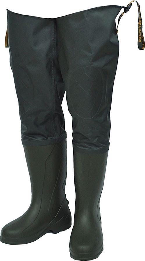 Сапоги для рыбалки мужские Nordman Expert, цвет: олива. pe_22_tep_rn_new-516-42/43. Размер 42/43 сапоги для рыбалки мужские nordman цвет оливковый ps 15 1 utm 081 43 размер 43