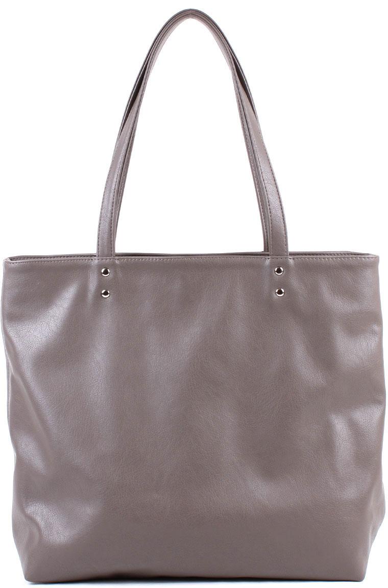 Сумка женская Медведково, цвет: темно-серый. 18с0391-к14 сумка шоппер женская медведково цвет темно синий 16с3492 к14
