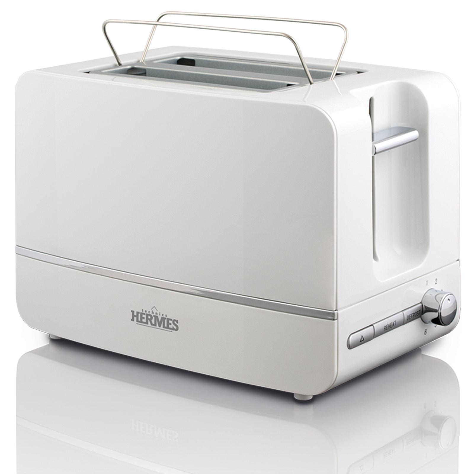 Тостер Hermes Technics HT-TO600, TO17354, белый