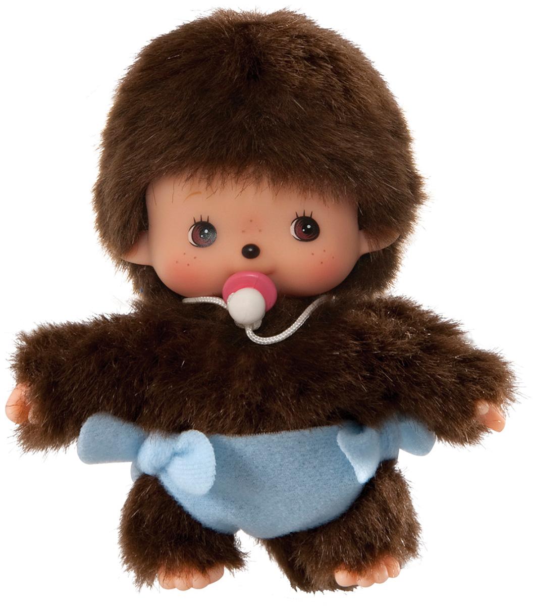 """Мягкая игрушка Monchhichi Bebichhichi """"Мальчик в подгузнике"""", 15 см"""
