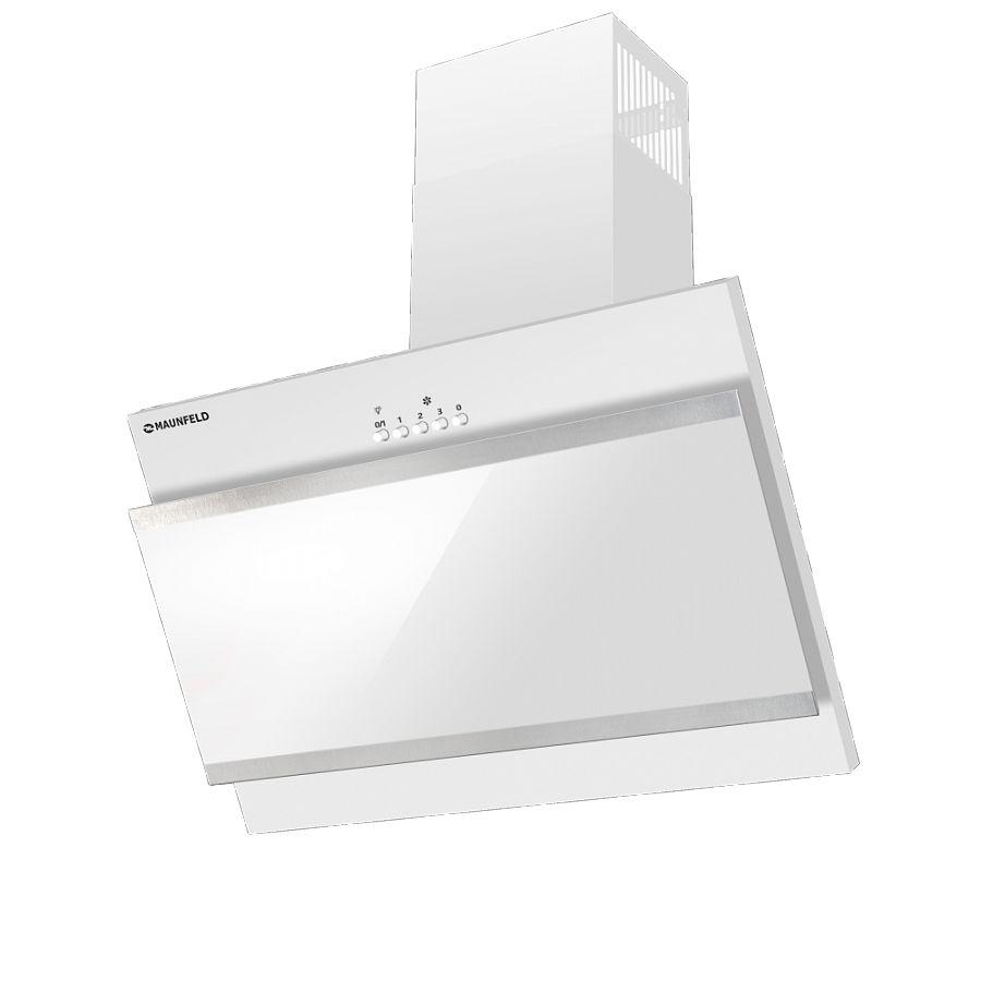 Вытяжка MAUNFELD, TOWER G_SATIN 50 WHITE, белый На ваш выбор можно сделать отвод в вентиляционное отверстие...