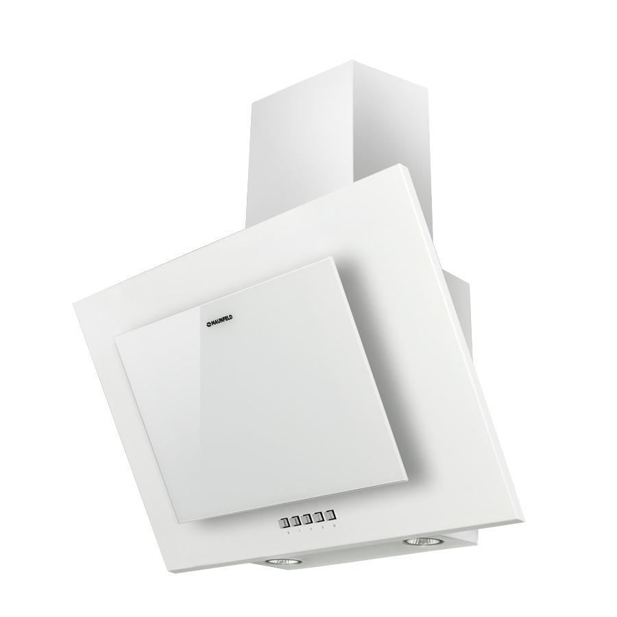 Вытяжка MAUNFELD TOWER C 60 WHITE, TOWER C 60 WHITE, белый5647ГАРАНТИЯ 3 года! Дизайн Отличное решение для небольших кухонь (до 20 кв.м). Сочетание простоты использования и оригинального дизайнерского решения где алюминиевый жироулавливающий фильтр скрыт за прочным тонированным стеклом, что позволяет сохранять эстетичный вид вытяжки долгие годы ее использования. Современный функционал Вытяжка оснащена удобным кнопочным управлением 3-мя скоростями. Периметрическое всасывание надежно очищает воздух от копоти, жира и запахов. Производительность и мощность Полная потребляемая мощность составляет 160 Вт, а максимальная производительность 650 м3/ч, что позволяет работать на кухнях большой площади и эффективно очищать воздух. Уровень шума Мы производим наши вытяжки из высококачественных материалов, которые позволяют добиться низкого уровня шума 54 Дб при высокой производительности. Подсветка рабочей зоны Модель оснащена ярким галогенным освещением (2*20), света которого достаточно для комфортного приготовления пищи на плите. Цветовая гамма Модель выпускается в черном и белом цвете. Монтаж Наклонная вытяжка монтируется на стену над поверхностью плиты. На ваш выбор можно сделать отвод в вентиляционное отверстие или использовать сменный угольный фильтр.
