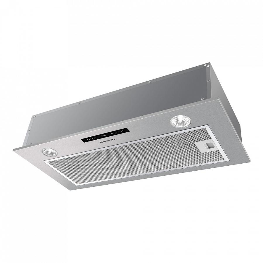 Кухонная вытяжка MAUNFELD CROSBY LIGHT 52  INOX Gl, нержавеющая сталь