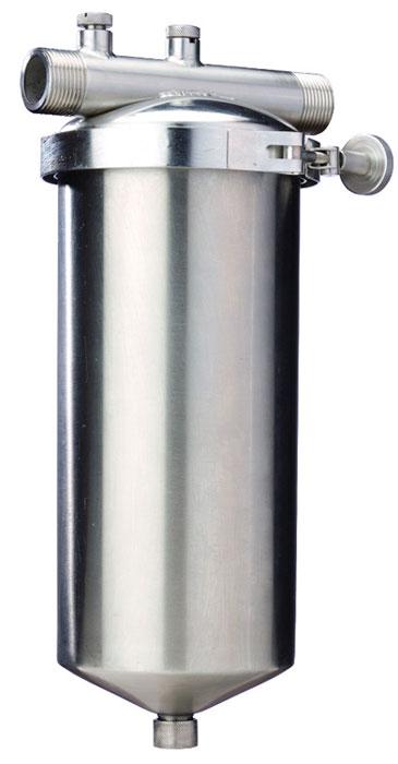 Колба магистрального фильтра Fibos, металлическая, ГВС, 3 м3/ч