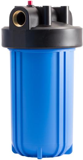 цена на Колба магистрального фильтра Fibos, пластиковая, ХВС, 3 м3/ч