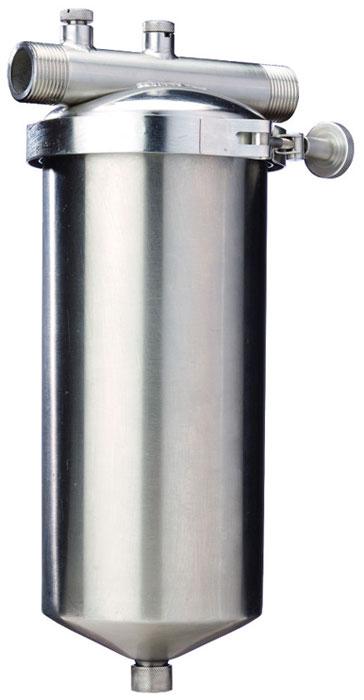 Фильтр для воды Fibos, магистральный, для финишной очистки, угольный, ГВС, 3 м3/ч цена и фото