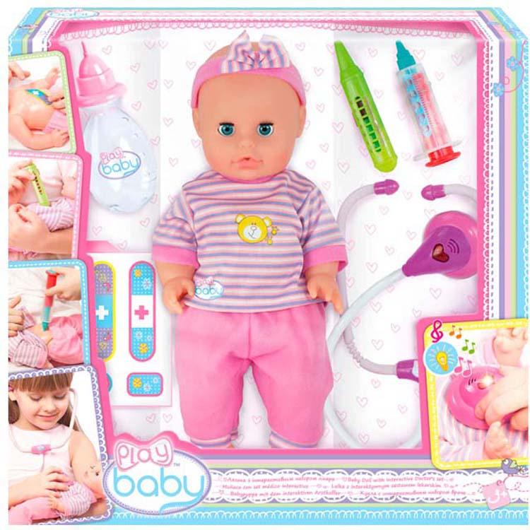 """Набор игровой с куклой ToysLab """"Play Baby. Набор доктора"""", 32004TL"""