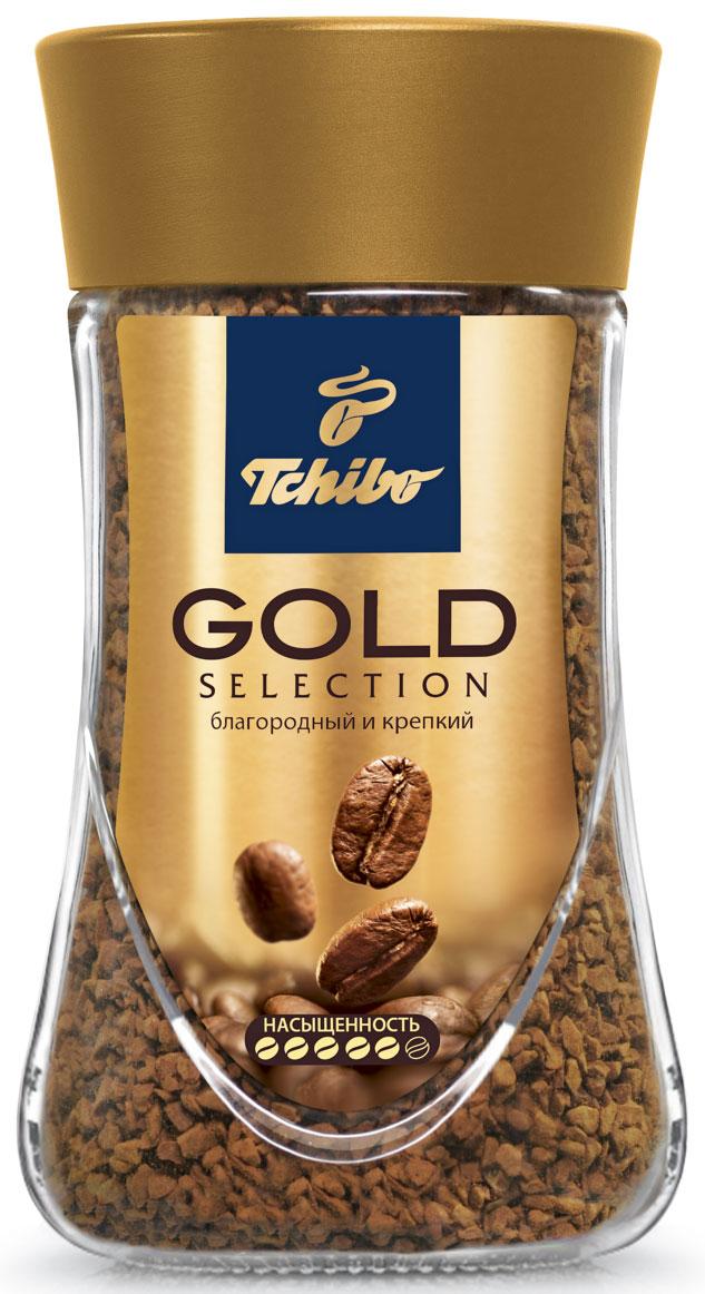 Tchibo Gold Selection кофе растворимый, 190 г