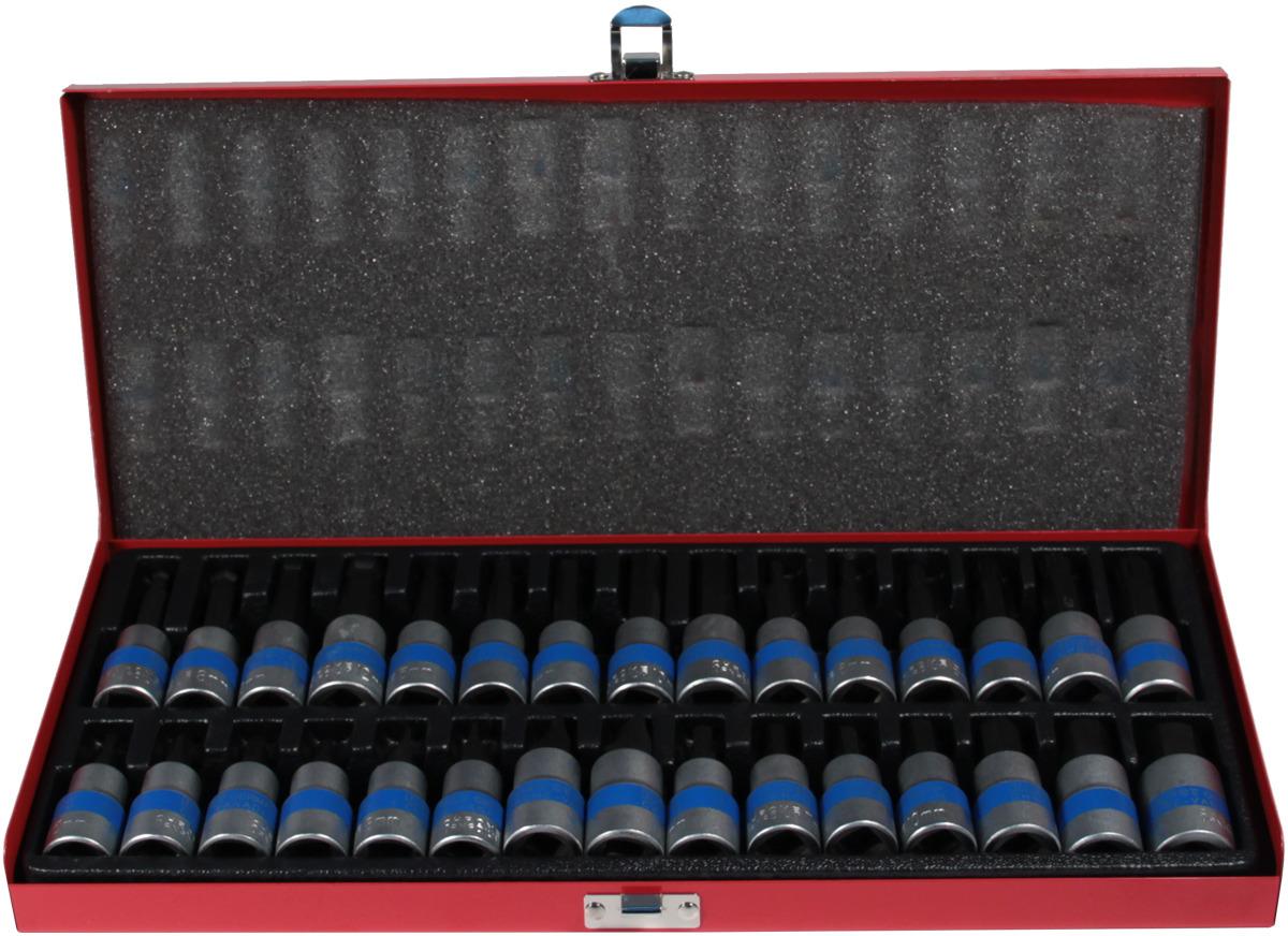 Набор торцевых головок и вставок King Roy 030-MDA, 30 предметов линолеум force colibri 6 4м 2 5мм 0 6мм
